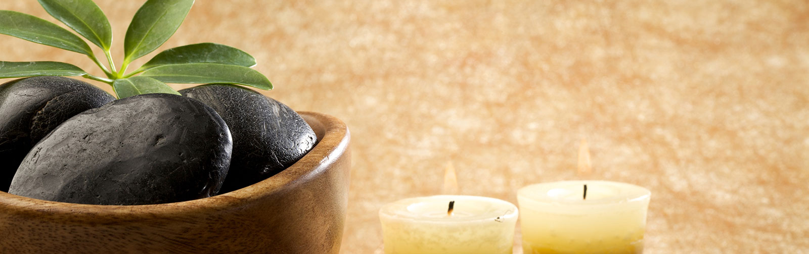Relaxing Spa Atmosphere with candles